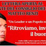 Lettera Aperta a Renzi dal Presidente del Movimento Sardi nel Mondo - Radio Sardegna Web