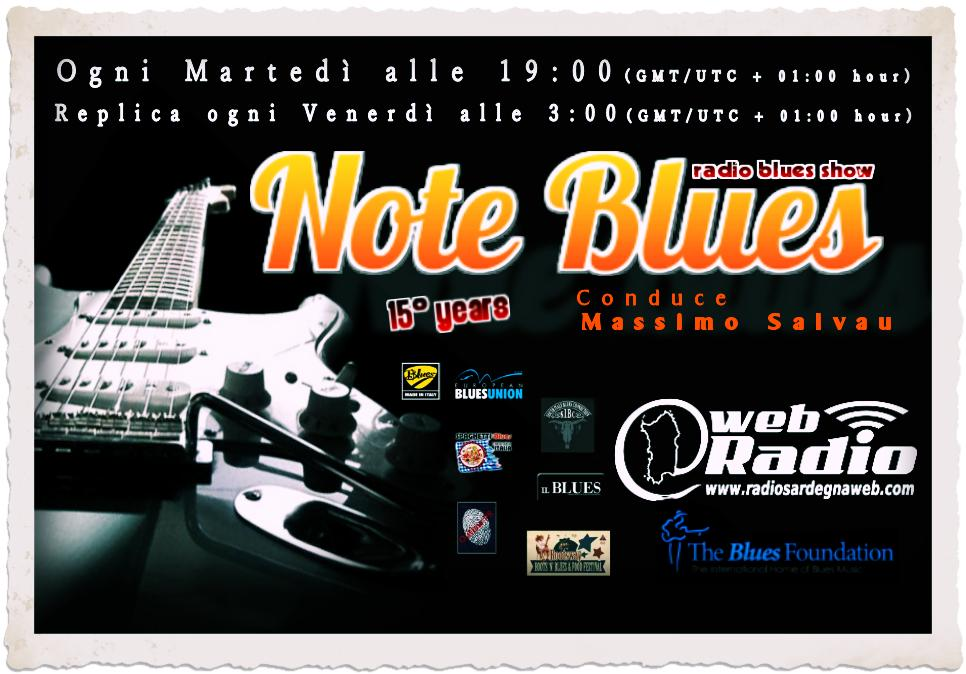 Update Note Blues – 26/05/2015 – Radio Sardegna Web