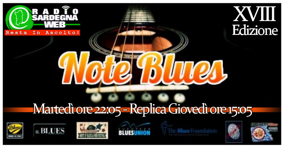 Note Blues, da 18 anni il Blues in radio