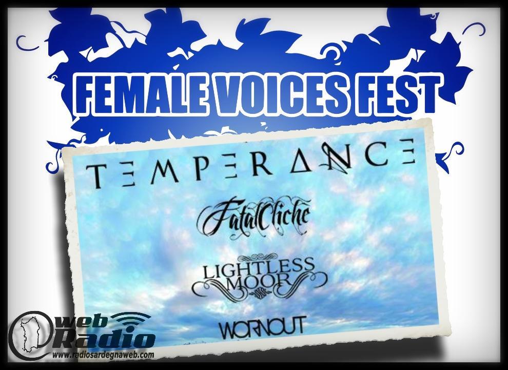 Female Voices Fest – 2° Edizione al via il 9 Maggio 2015