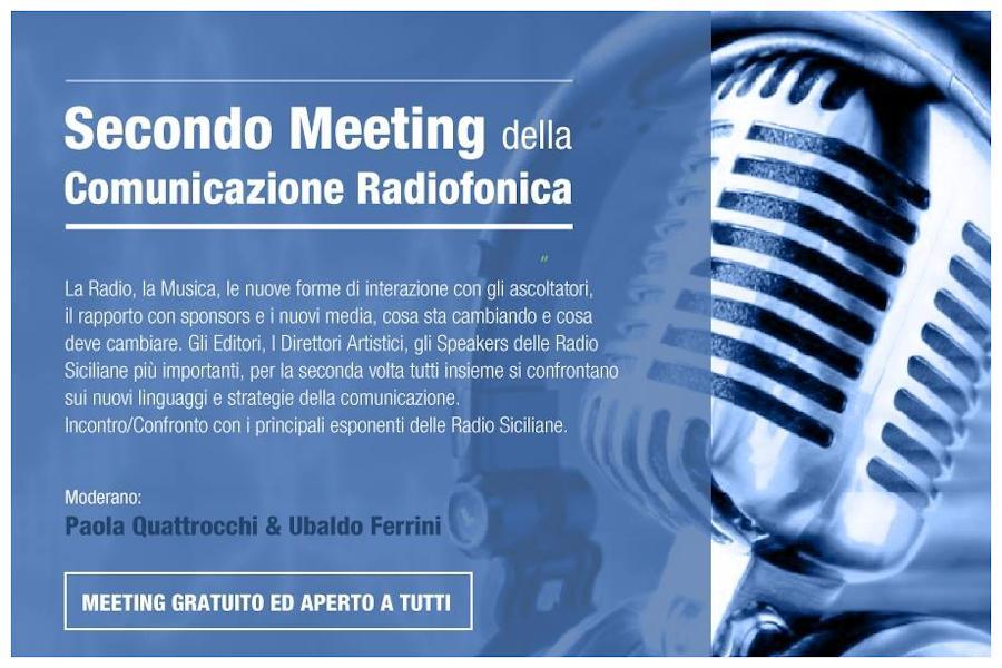 Secondo meeting sulla Comunicazione Radiofonica, Fm e webradio si incontrano nuovamente