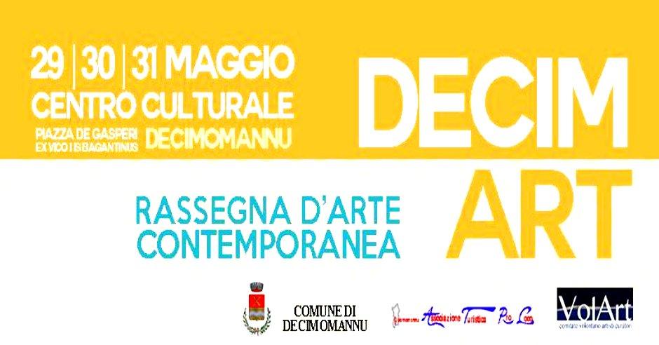 DECIMART (29/30/31 Maggio 2015) – Rassegna d'Arte contemporanea