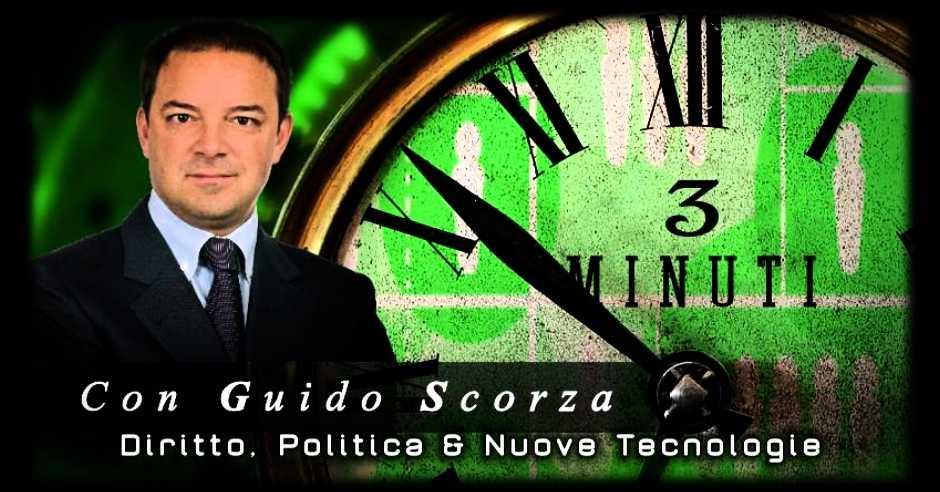 Al via: 3 Minuti con Guido Scorza