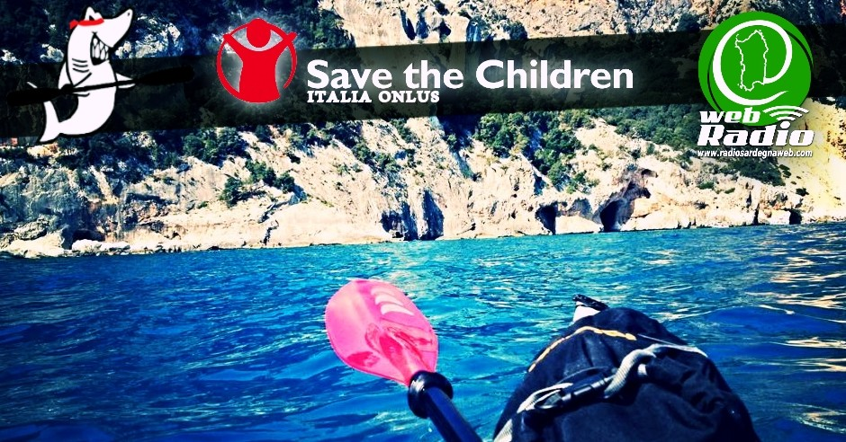 "Lo ""Strano"" viaggio in kayak per Save The Children"