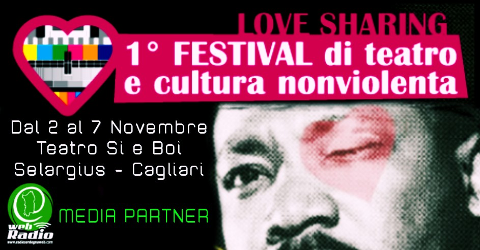 Love Sharing – Dal 2 al 7 Novembre il Teatro Non Violento