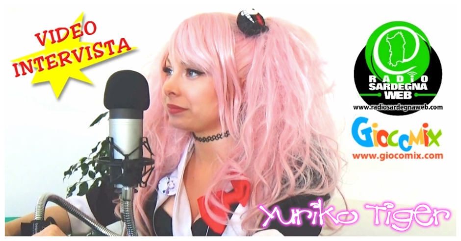 Yuriko Tiger @GioCoMix8 : La Video Intervista