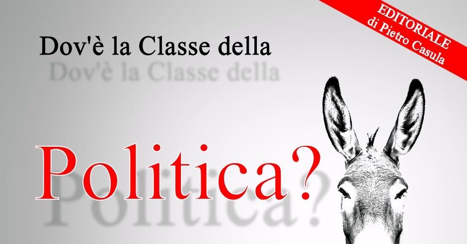 Dov'è la Classe della politica? – Sardi Nel Mondo