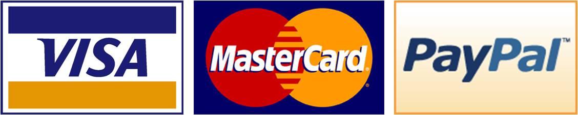 Risultati immagini per immagini paypal mastercard visa