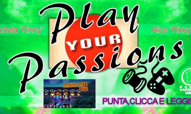 Play Your Passions: Punta e clicca e poi leggi!