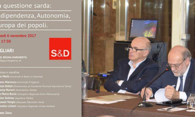 L'aspirazione dei sardi all'autogoverno, il dibattito proposto da Renato Soru
