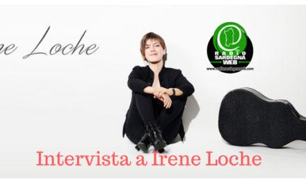 """Irene Loche: """"Quando compongo, canto e suono mi sento totalmente coinvolta""""."""