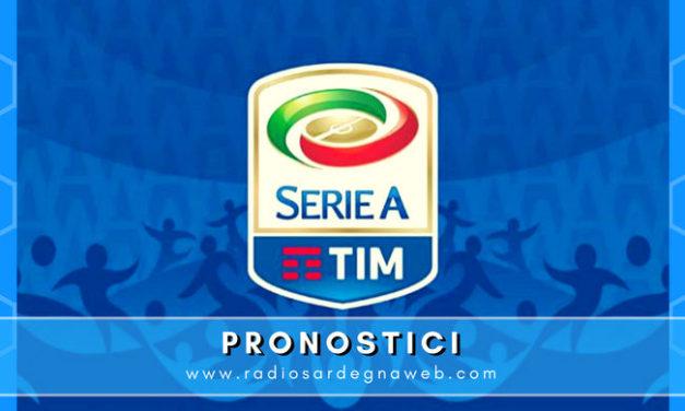Pronostici per la 2° Giornata Serie A TIM