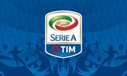 La prima giornata del Campionato di Serie A
