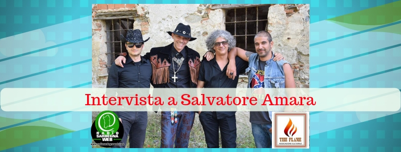 "Salvatore Amara: il nuovo disco si intitola ""Black as coal""."