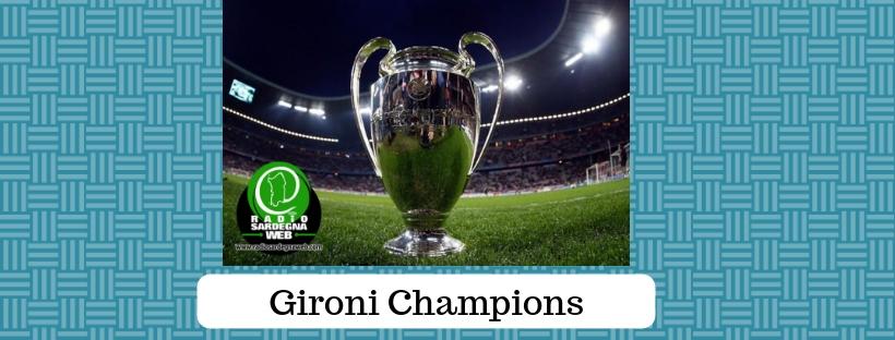 I sorteggi dei gironi della Champions League