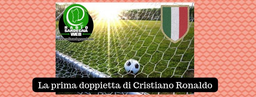Serie A TIM: La prima doppietta di CR7 in Italia