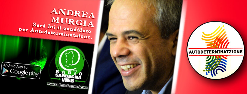 Autodeterminatzione ha scelto: Andrea Murgia è il candidato presidente