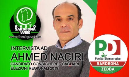 Ahmed Naciri: candidato consigliere elezioni 24 Febbraio