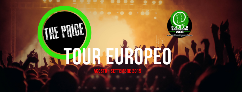 I The Price di Milano: il tour Europeo inizia ad Agosto