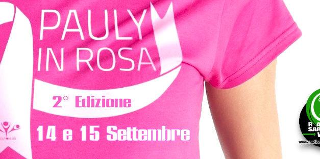 """""""Pauly in Rosa"""", la 2° Edizione il 14 e 15 Settembre 2019"""