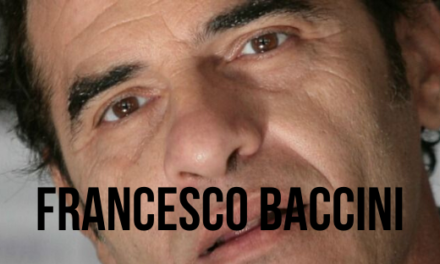 Intervista a Francesco Baccini