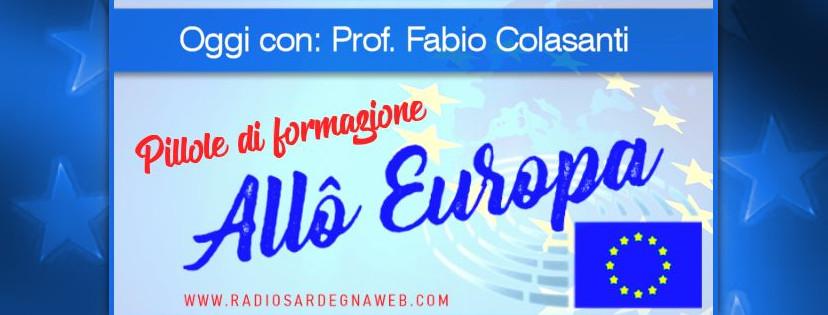Allô Europa: [PILLOLA DI FORMAZIONE 01] – Fabio Colasanti