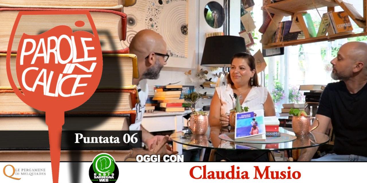 A cavallo tra le linee temporali con Claudia Musio –  Parole in Calice [ 06 ]
